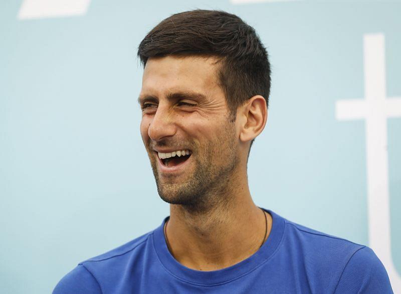 Novak Djokovic at the Adria Tour