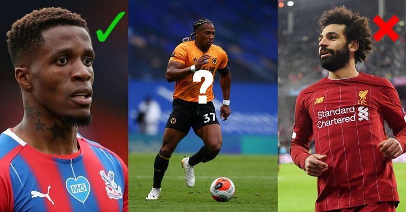 Wilfried Zaha and Adama Traore have shown some quick feet in the Premier League this season