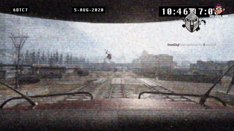 Call of Duty teases a train at the station in Verdansk (picture credits: NICKMERCS)
