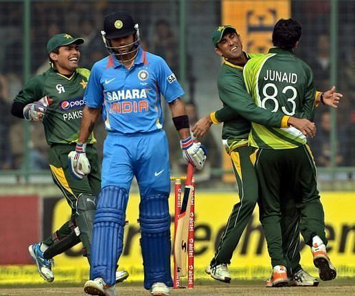Junaid Khan recalled how he got Virat Kohli out three times during the ODI series in 2012
