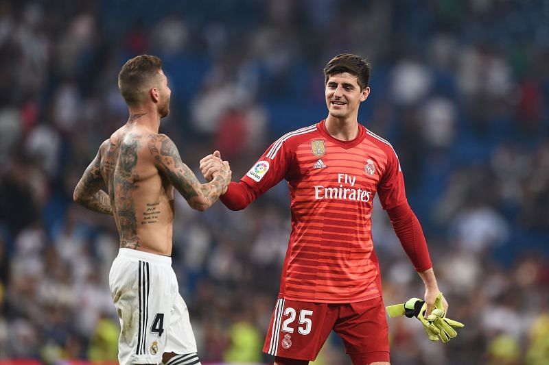 Courtois and Ramos have been excellent this season