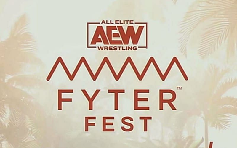 It is Fyter Fest! It is the feel good show of the year!