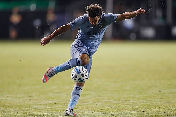 Graham Zusi is a key player for Kansas