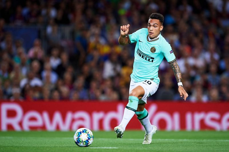 Lautaro Martinez of Inter Milan is another player the Barcelona board is willing to bring to the Nou Camp.