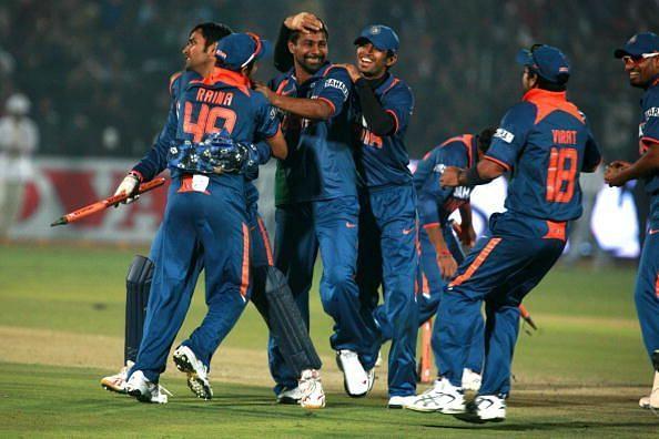 भारत ने 4 बार वनडे में 1 रन से जीत दर्ज की है