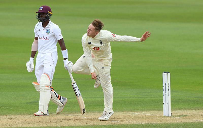 Dom Bess - England v West Indies: Day 3 - First Test #RaiseTheBat Series
