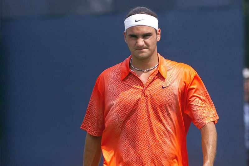Roger Federer was an angry young man once