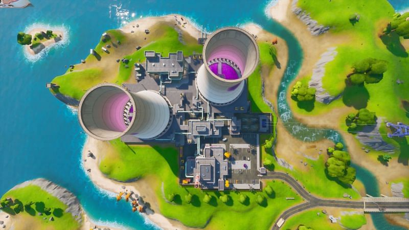 Steamy Stacks dans Fortnite Season 3 (Crédit d'image: Gamespot)