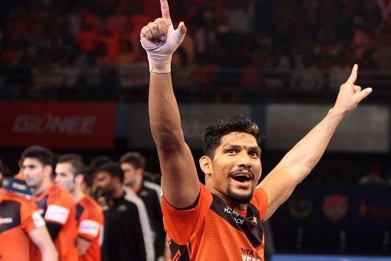 Rishank Devadiga picked five former U Mumba players in his all-time PKL seven