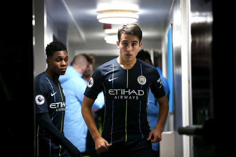 Barcelona are also looking to add the 19-year-old centre-back Eric Garcia (centre) to their ranks.
