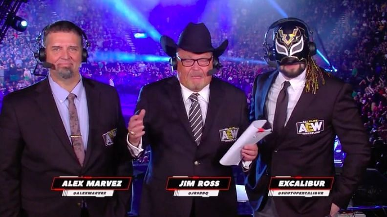 AEW Wrestling Broadcast team