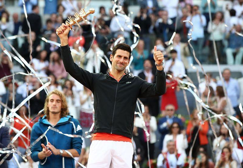 Novak Djokovic has an unending desire to keep learning