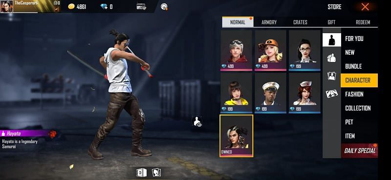 All Free Fire Characters Full List Of Agents In The Game In 2020