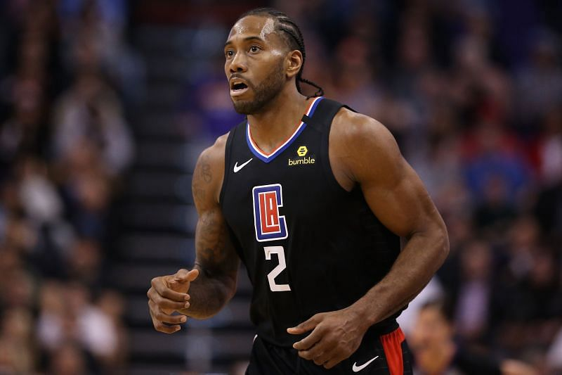 Kawhi Leonard is ready to go all guns blazing for the LA Clippers