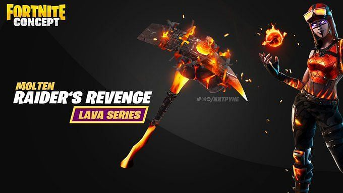 Free Axe In Fortnite Fortnite Free Molten Pickaxe Redemption Codes Are They Real