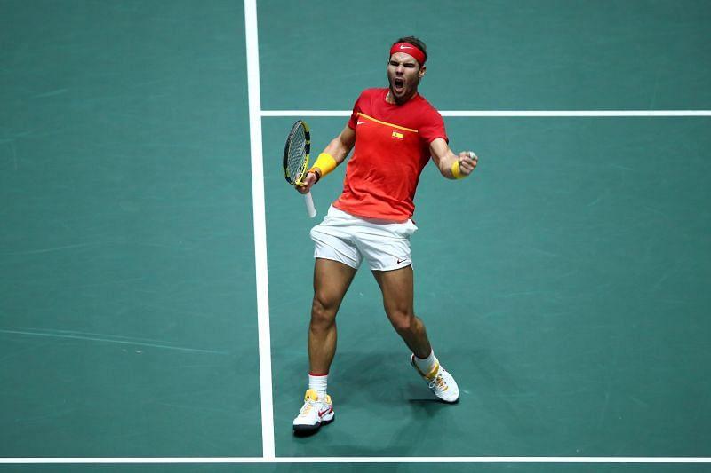 Rafael Nadal at Davis Cup 2019