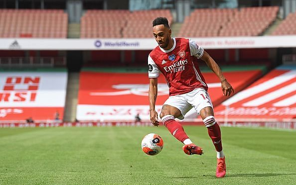 Pierre-Emerick Aubameyang was Arsenal