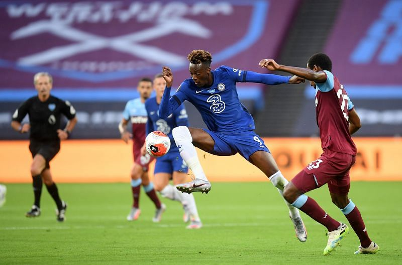 Tammy Abraham looked off the pace at the London Stadium