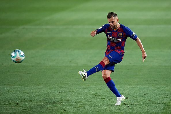 Jordi Alba came out stronger after the three-month break in La Liga