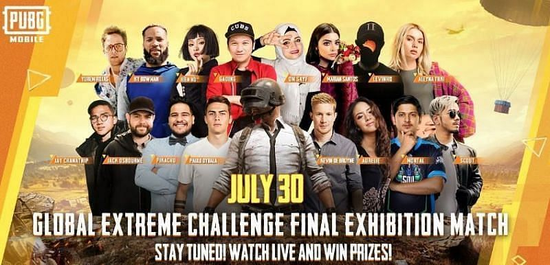 PUBG Mobile Global Extreme Challenge 2020 schedule has come out