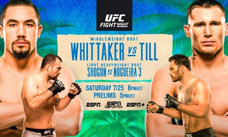 UFC Fight Island 3 Results