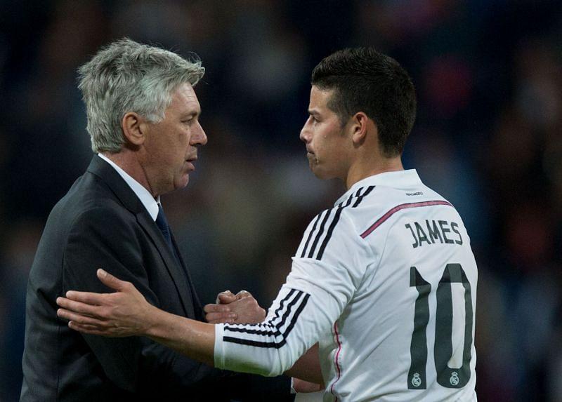 James and Ancelotti enjoyed a superb few seasons together