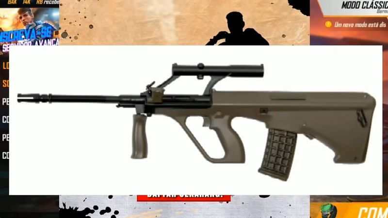 AUG Gun