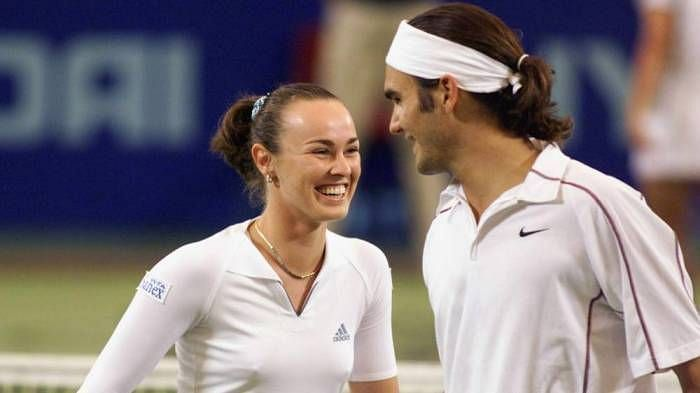 Hingis thinks Roger Federer