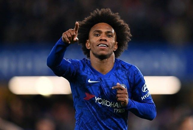 Willian has been in sublime form for Chelsea since the EPL restart