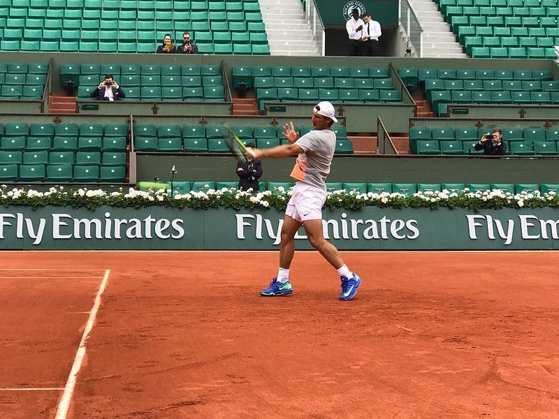 On clay, everything is about the forehand with Rafael Nadal