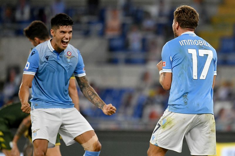 Lazio are looking to clinch second place on the Serie A table