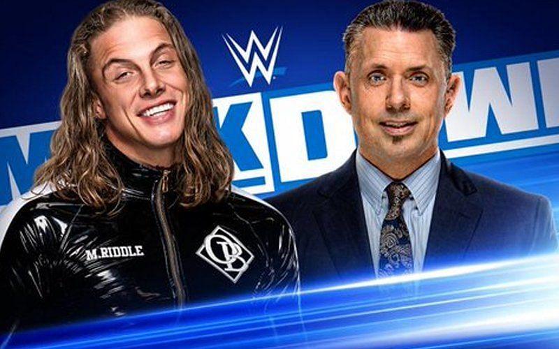 SmackDown में मैट रिडल का सैगमेंट देखने को मिलेगा