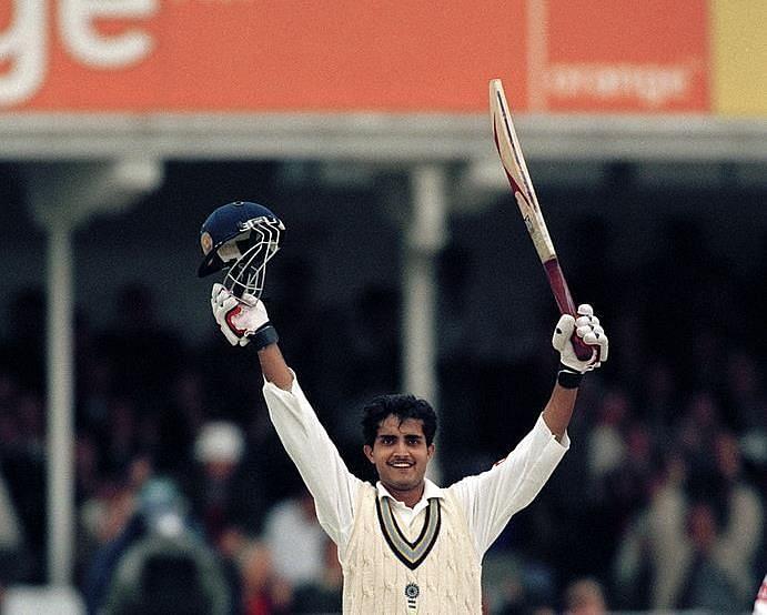 सौरव गांगुली ने अपने दूसरे टेस्ट में भी शतक जड़ा था