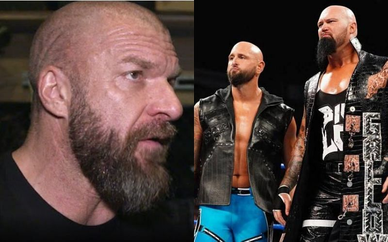 Triple H played a huge role in convincing Karl Anderson and Luke Gallows to re-sign with WWE