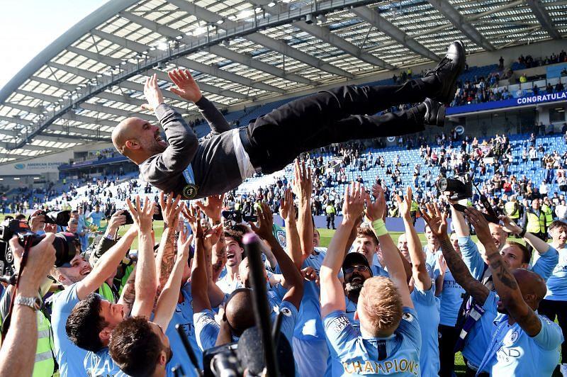 Guardiola has enjoyed immense success at City