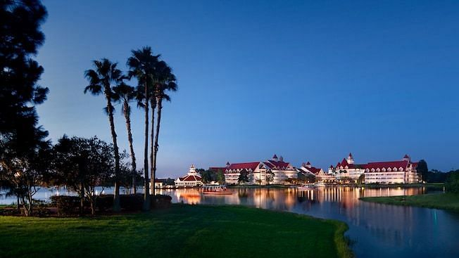 The Grand Floridian, the new home of the Houston Rockets