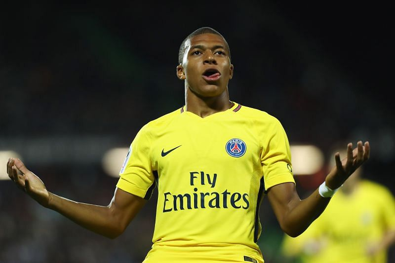 Mbappe shone during his loan spell at PSG.