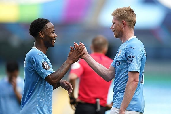 De Bruyne assisted his 20th goal of the season on the final day