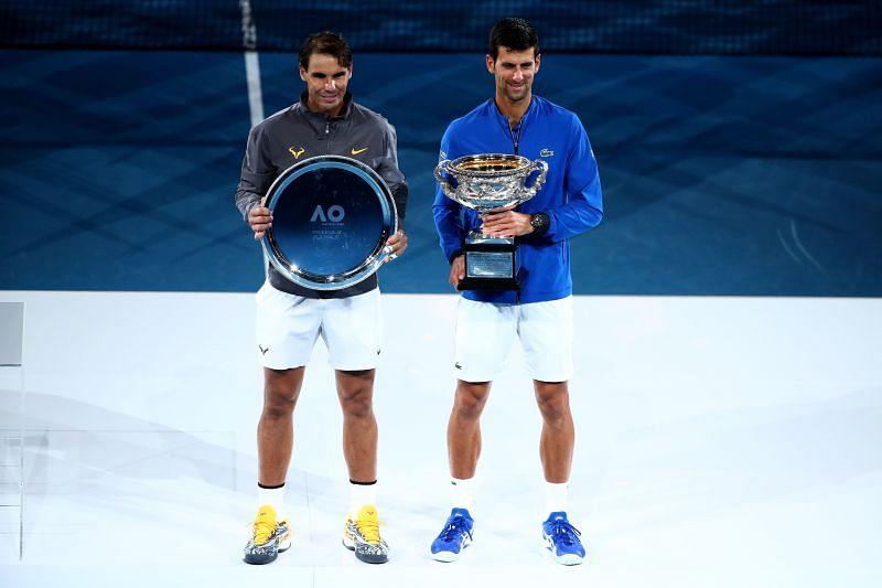 Novak Djokovic and Rafael Nadal have a big lead at the top