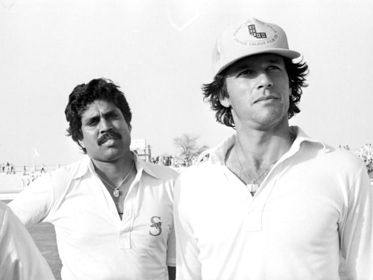 Kapil Dev and Imran Khan - Gulf News