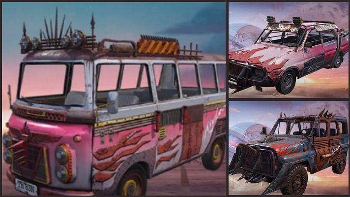 New vehicle skins