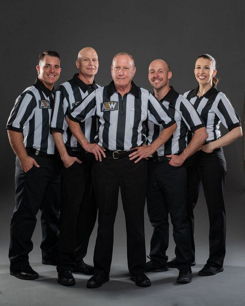 AEW Wrestling Referees
