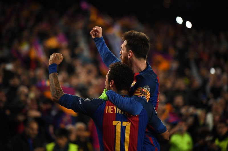 Neymar shares an excellent relationship with Lionel Messi