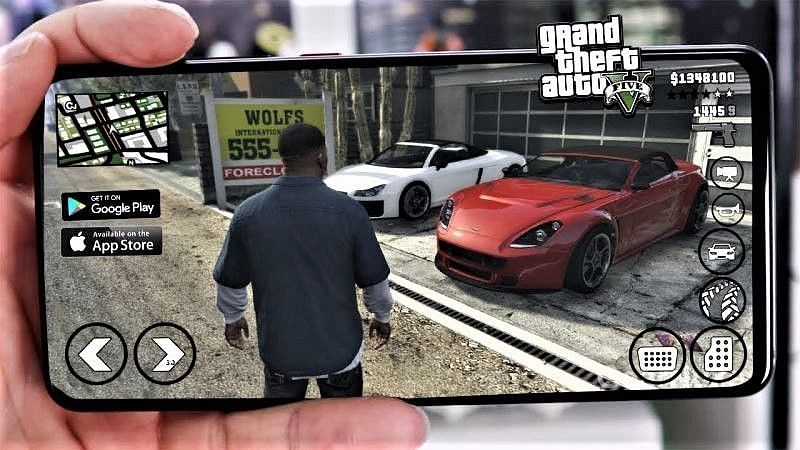 GTA V is not available on Android devices