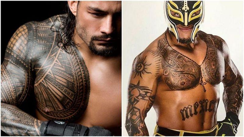 WWE सुपरस्टार्स के टैटू