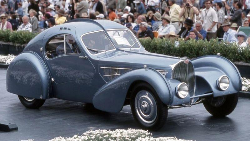 Bugatti Type 57 Atlantic (Image: Motor Authority)