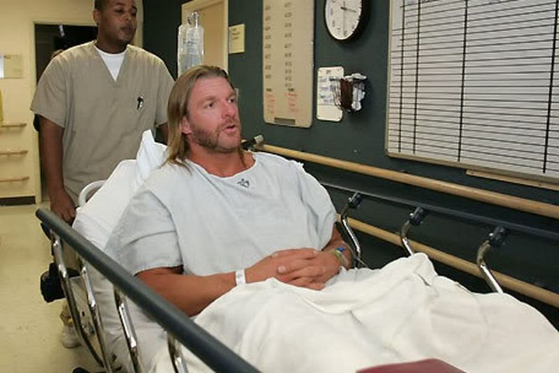 Triple H has had his fair share of injuries during his in-ring career