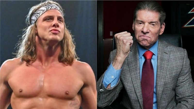 Matt Riddle and Vince McMahon