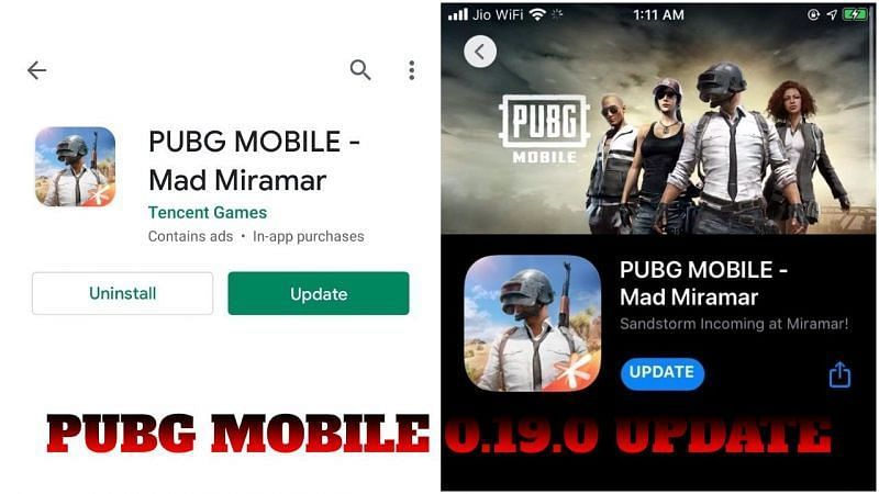 PUBG Mobile 0.19.0 Update Download