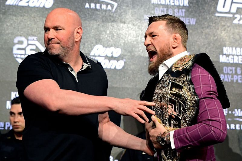 Dana White wanted McGregor to fight by the end of this year or at the start of the next one.